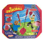 Swingball All Surfaces in het roze